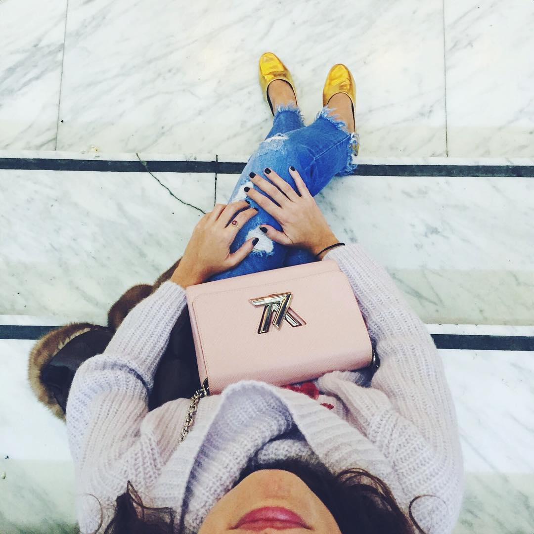 Golden slippers || I'm a #shoesaddict