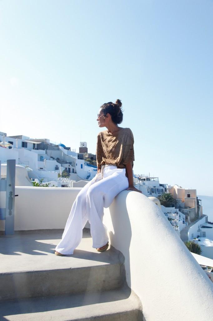 Santorini look