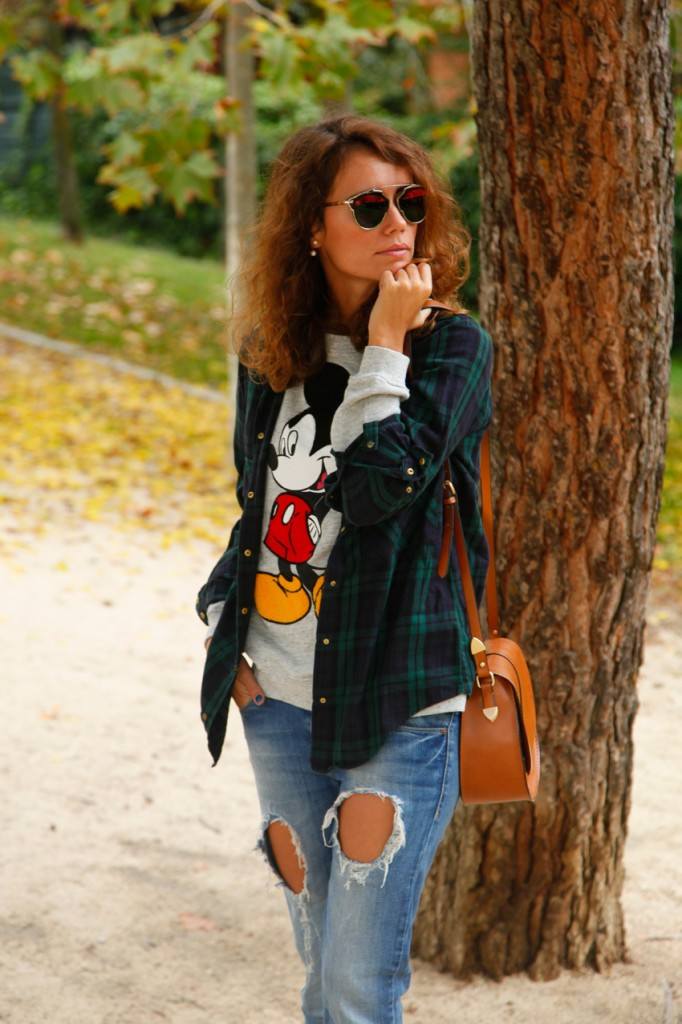 Jeans & Sweater look