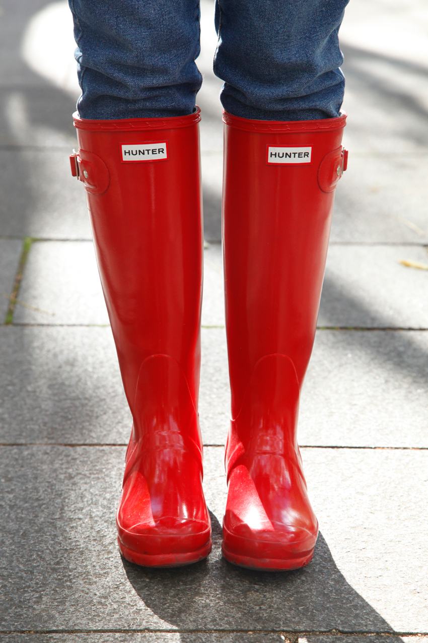 red water boots