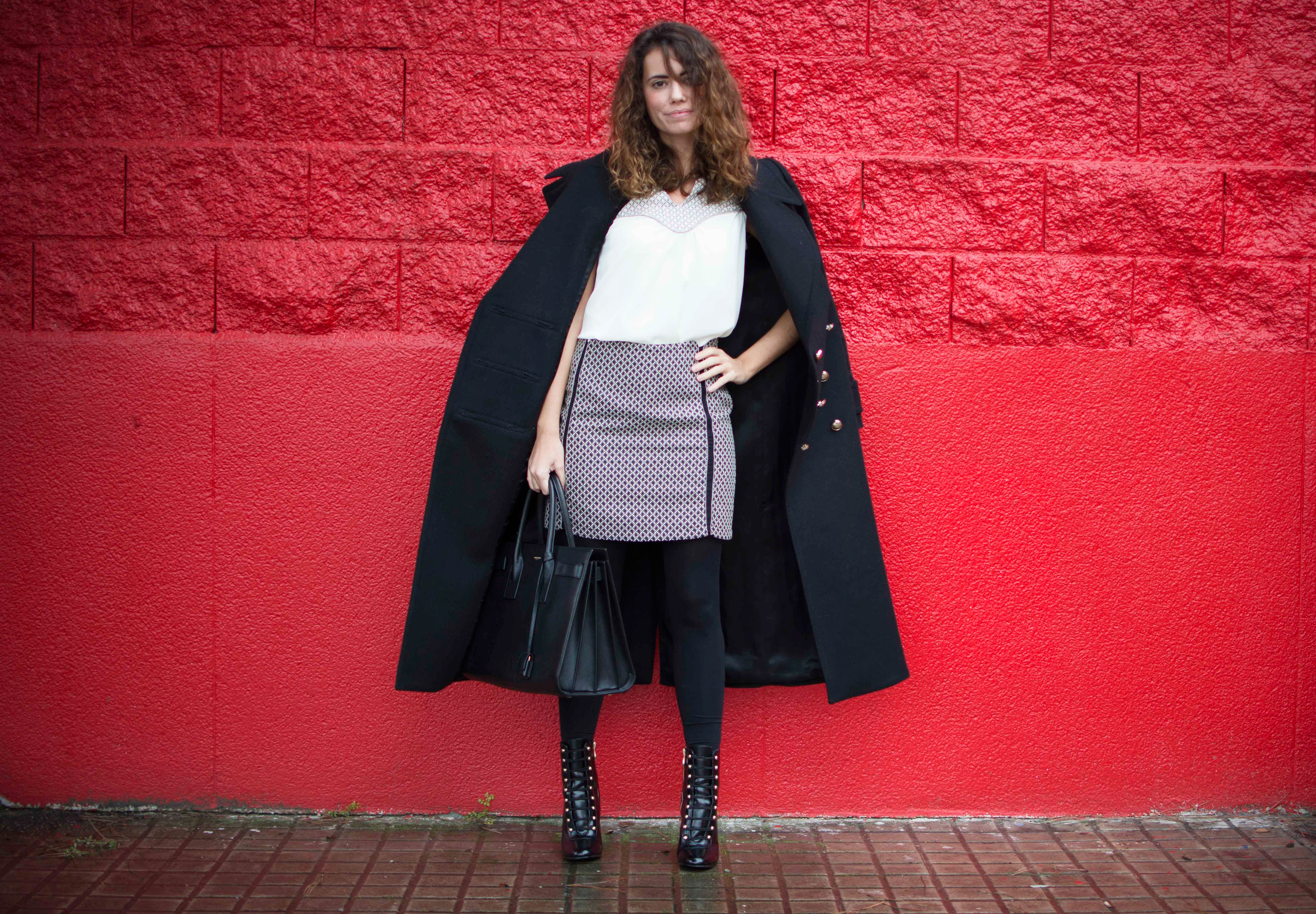 black and white look, polin et moi, fashion blog, work look, moda, estilo, cool lemonade