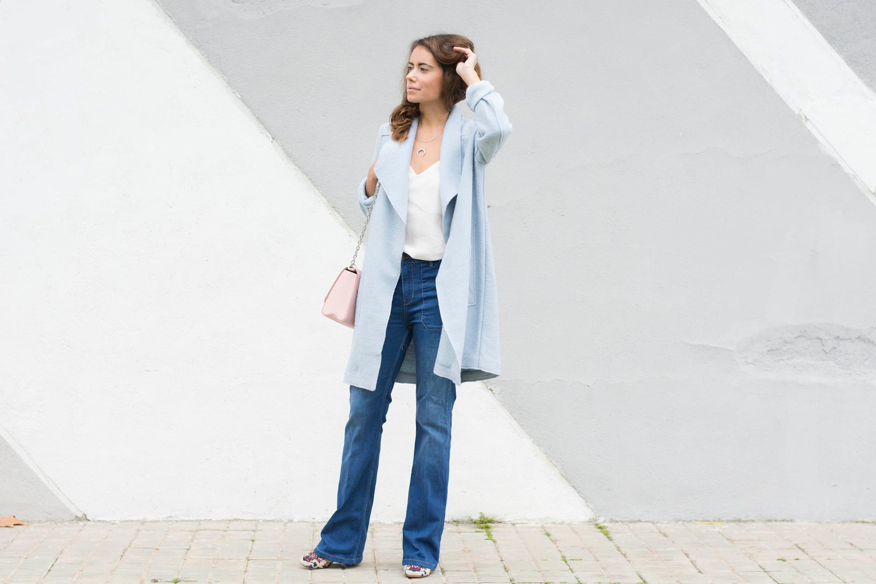 Blue serenity look, quarz rose, baby blue, azul bebe, rosa pastel, pantone 2015, fashion, outfit, fashion blogger