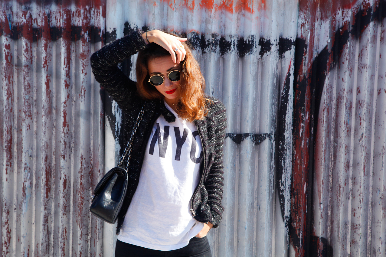 casual outfit, L.A outfit, slingback, chanel, spring summer 16 slingbacks, itgirl, fashion blogger, isabel marant, cool look