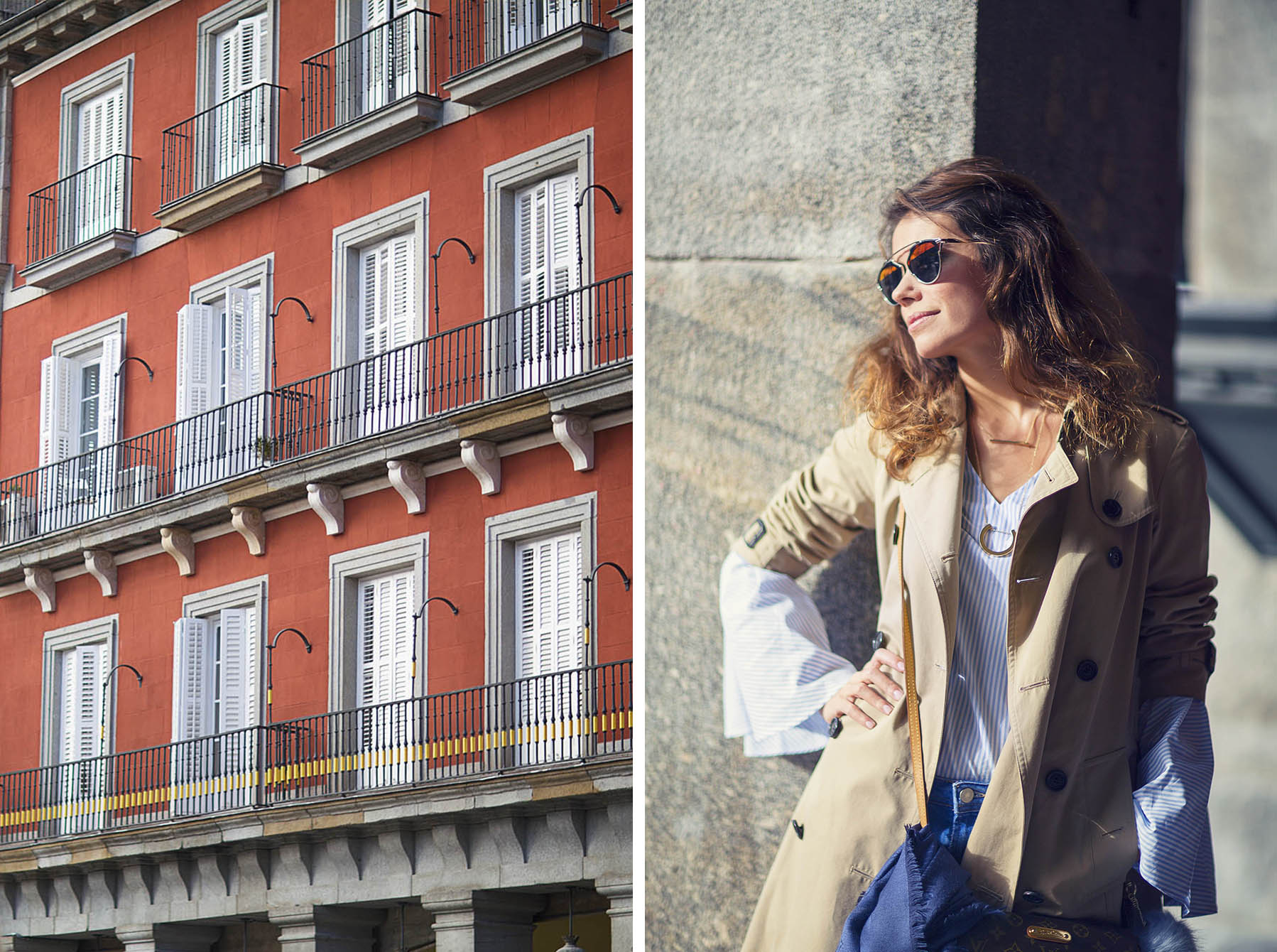 bell sleves-streetstyle-uterque-trench