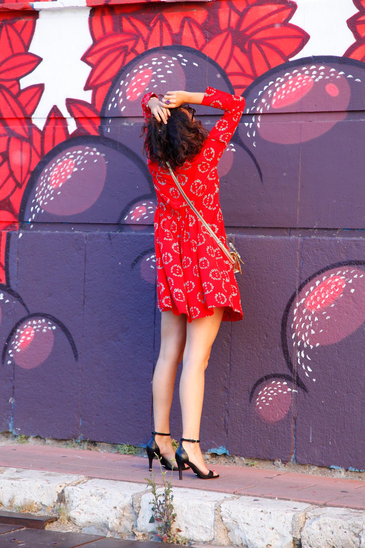 sandro_ss16-peace-red_dress-streetstyle-cool_lemonade