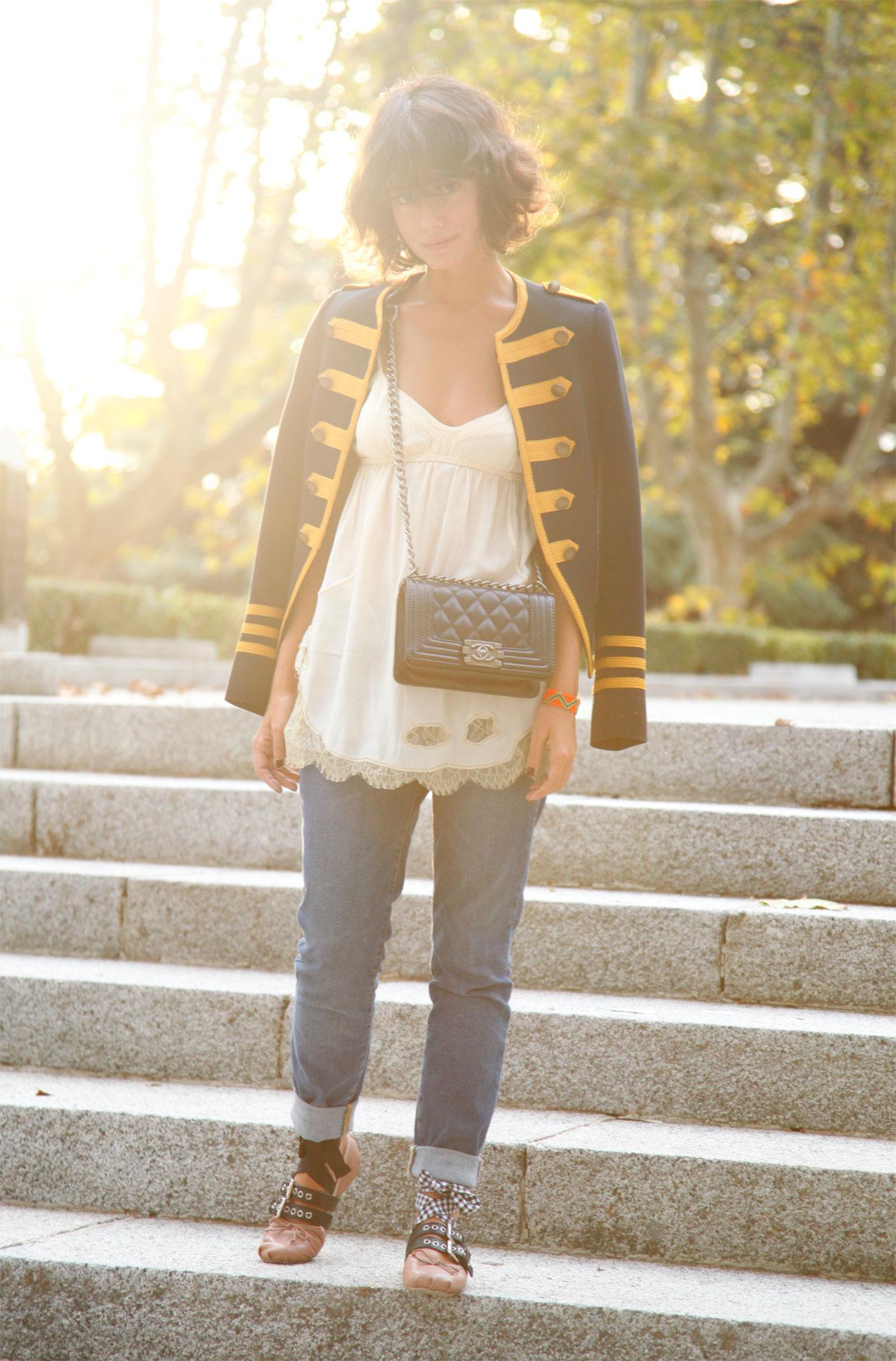 militar_jacket-lencero_autumn_look_miumiu_ballerinas_streetstyle-cool_lemonade-8